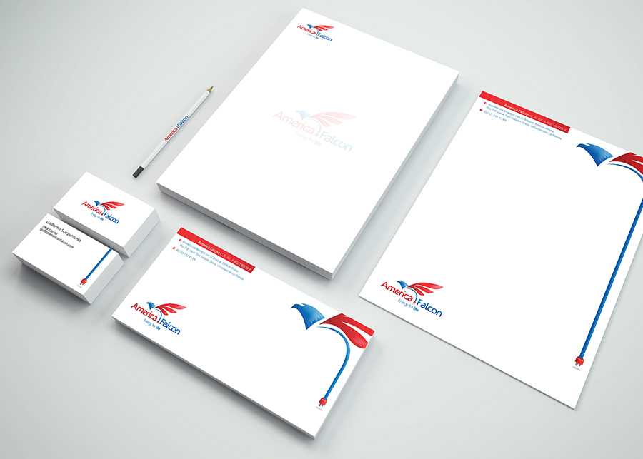 Stationery for American Falcons