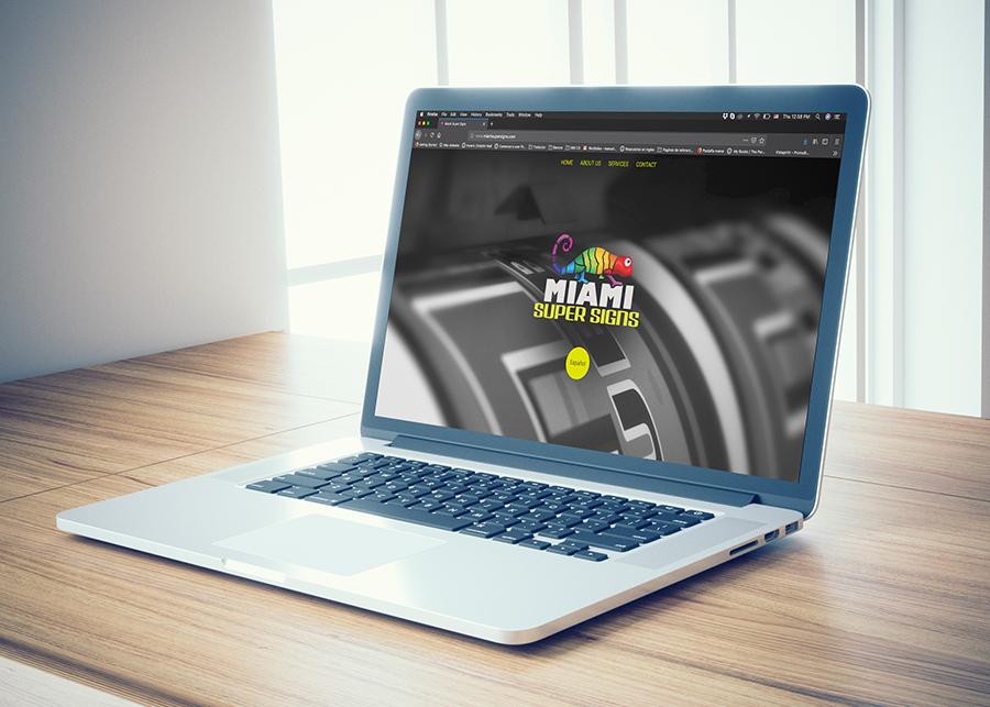 Website for Miami Super Signs