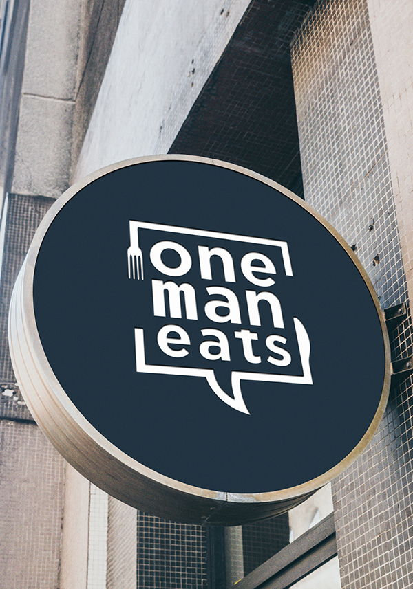 Logo for One Man Eats